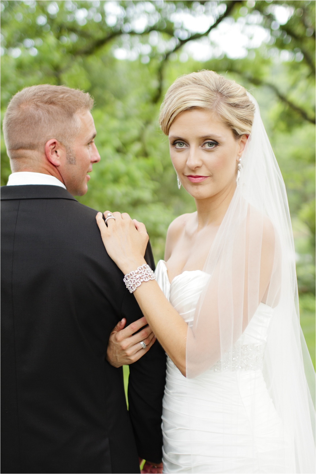 Candice Amp Chad Married Christine Bonnivier Photography